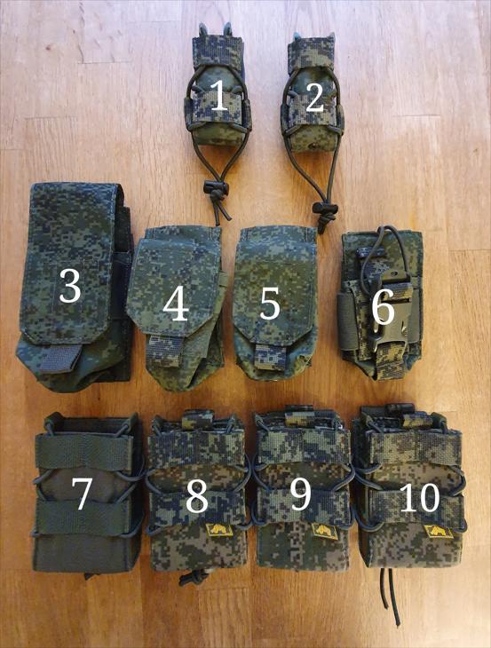 Bild för varan: Säljes oanvända fickor ryskt camo