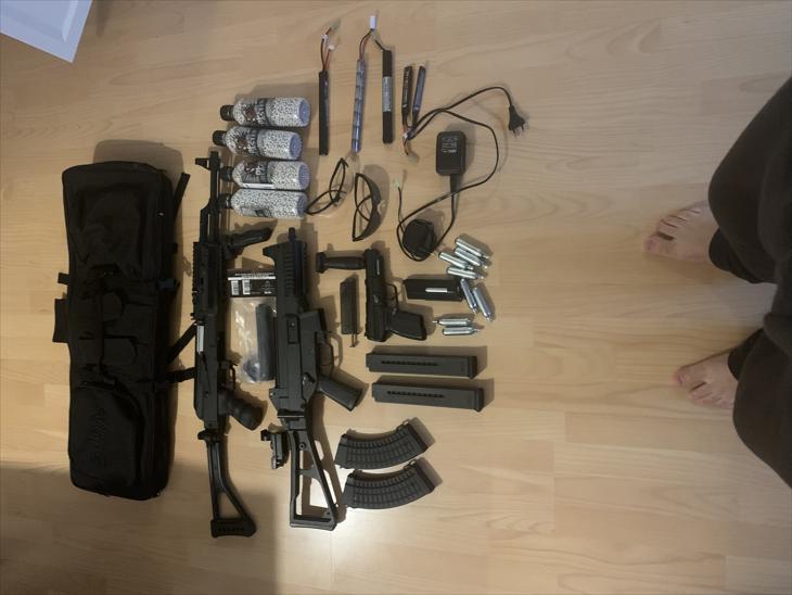 Bild för varan: Soft air Gun vapen med tillbehör