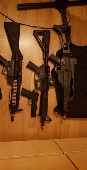Bild för varan: Allt mitt gear och vapen säljes