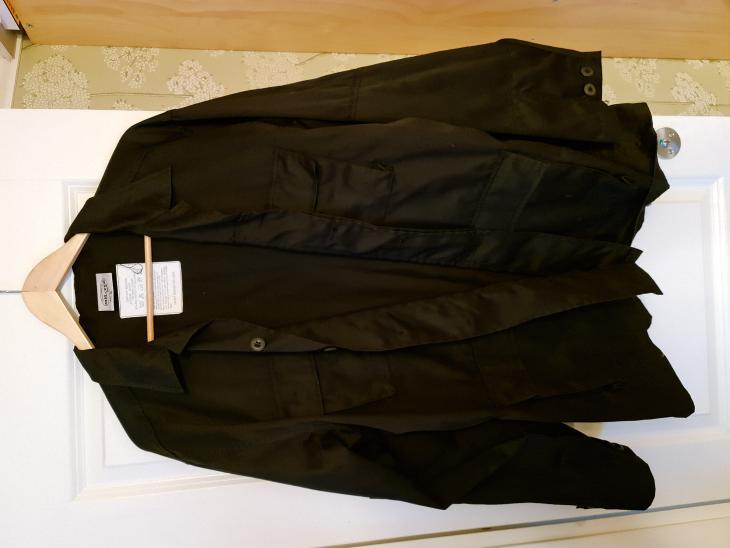 Bild för varan: Svart BDU jacka XL