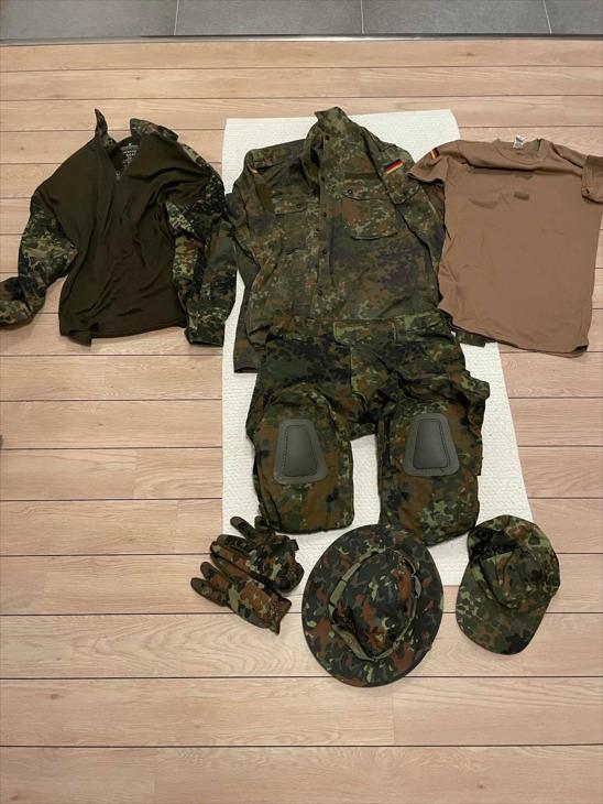 Bild för varan: Komplett Flecktarn uniform St L